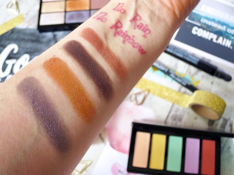 GOSH Metallics Palette Swatches