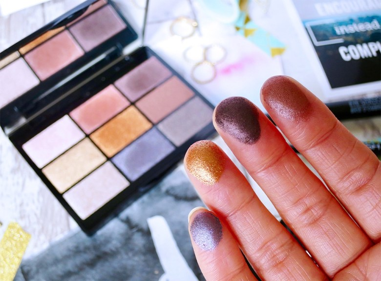 GOSH Metallics To Party in London Palette