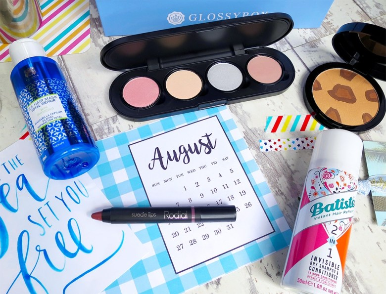 GlossyBox Spoiler August 2017