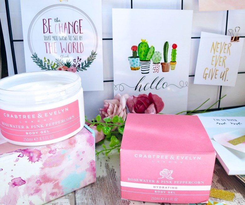 NEW Crabtree and Evelyn Everyday Wellbeing Collection