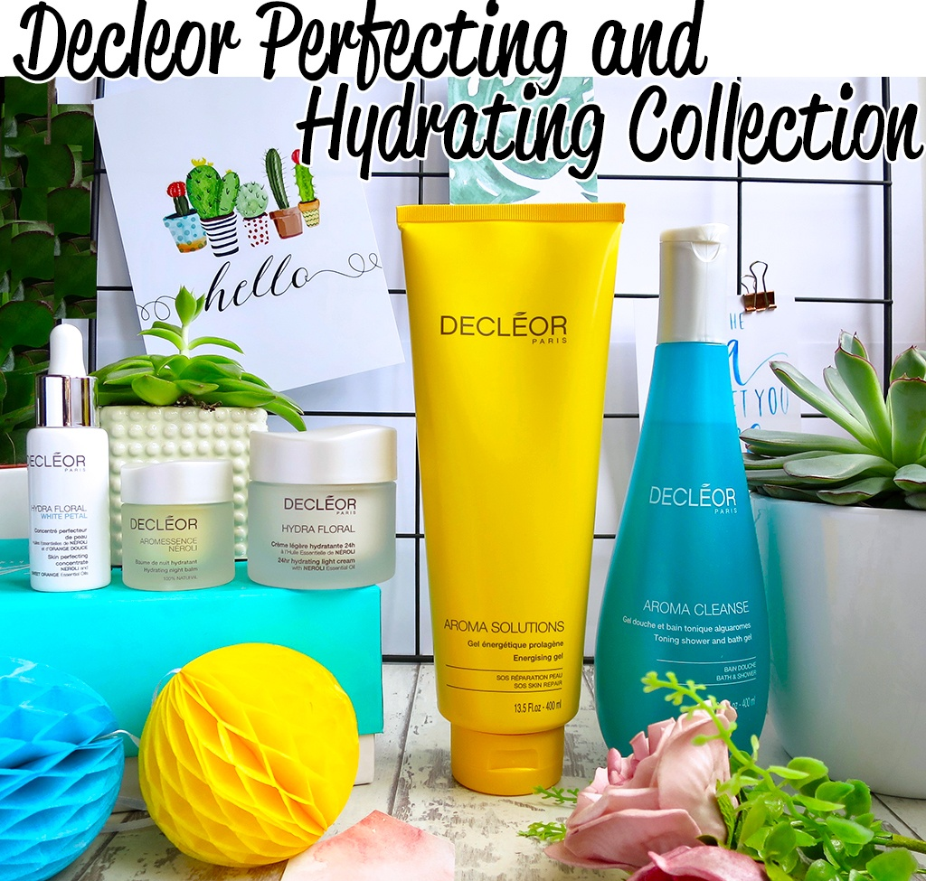 QVC TSV Decleor 5 Piece Perfecting and Hydrating Collection