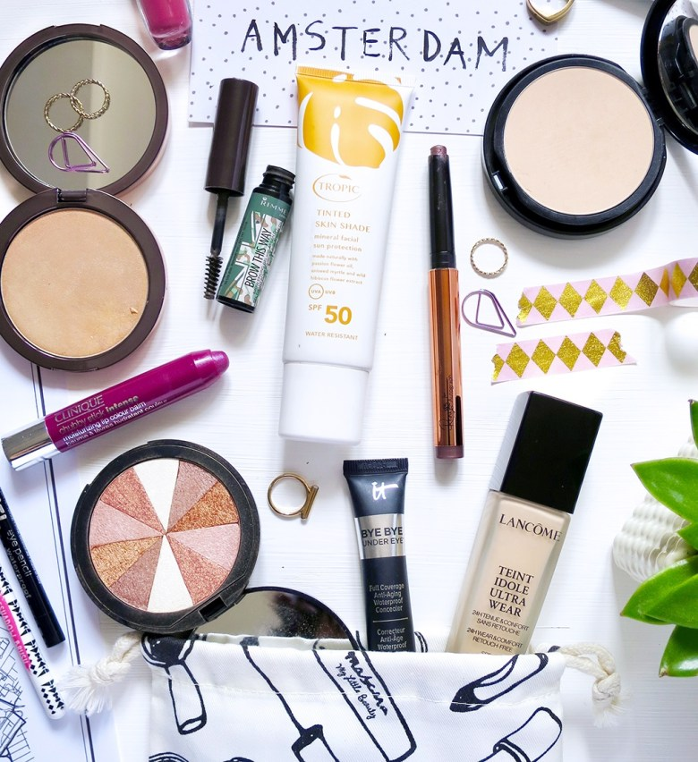 Travel Makeup Essentials Amsterdam