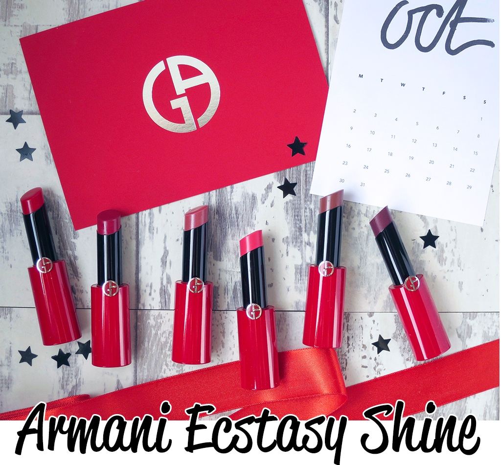 Armani Ecstasy Shine Lip Cream Review