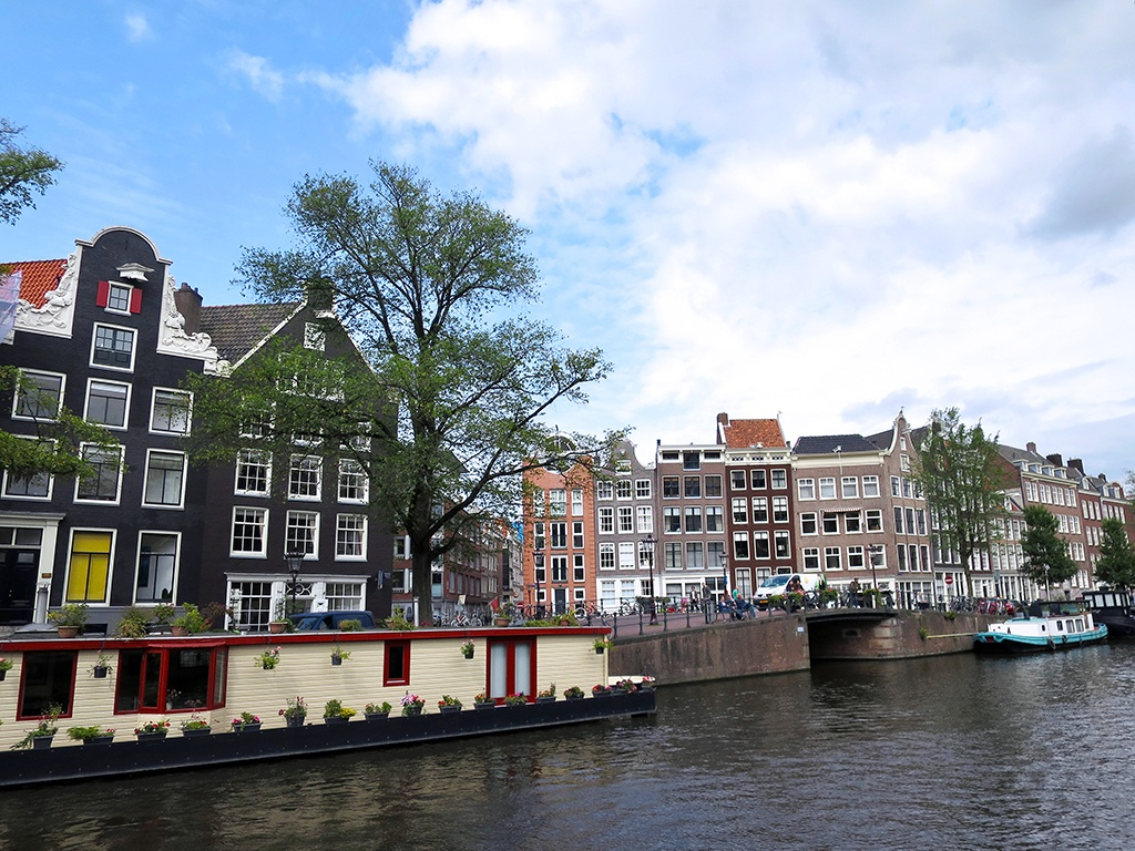 Pretty Canals in Amsterdam