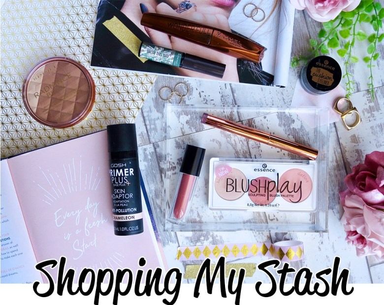 Shopping my Makeup Stash Sept-2017