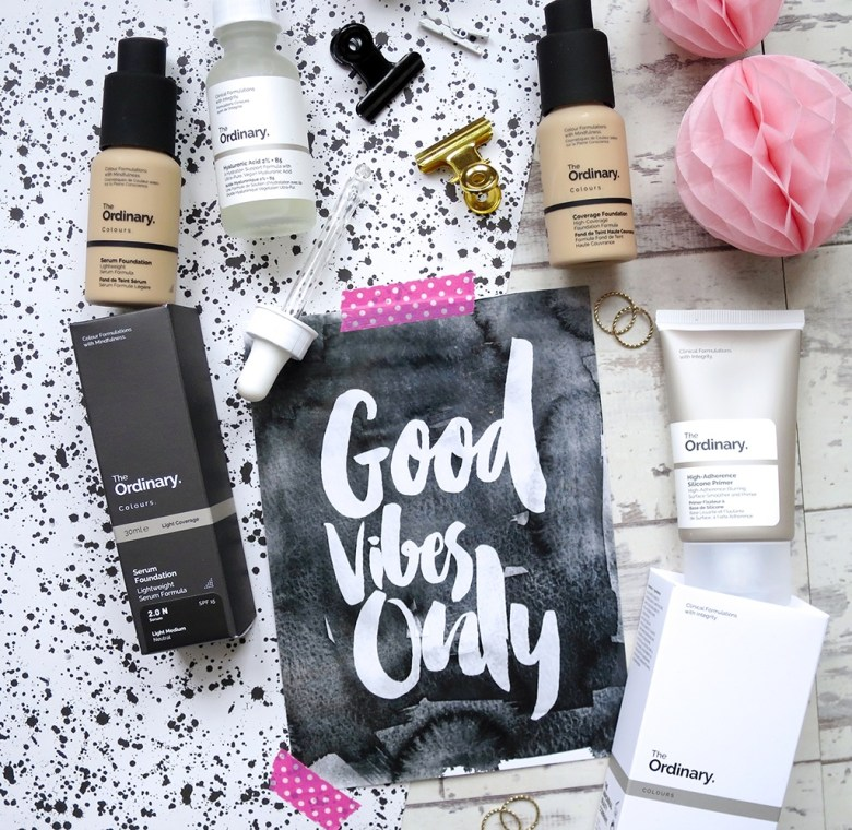 The Ordinary Foundation Collection For QVC