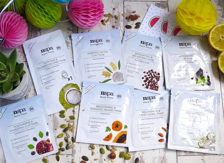 new nspa beauty rituals face masks