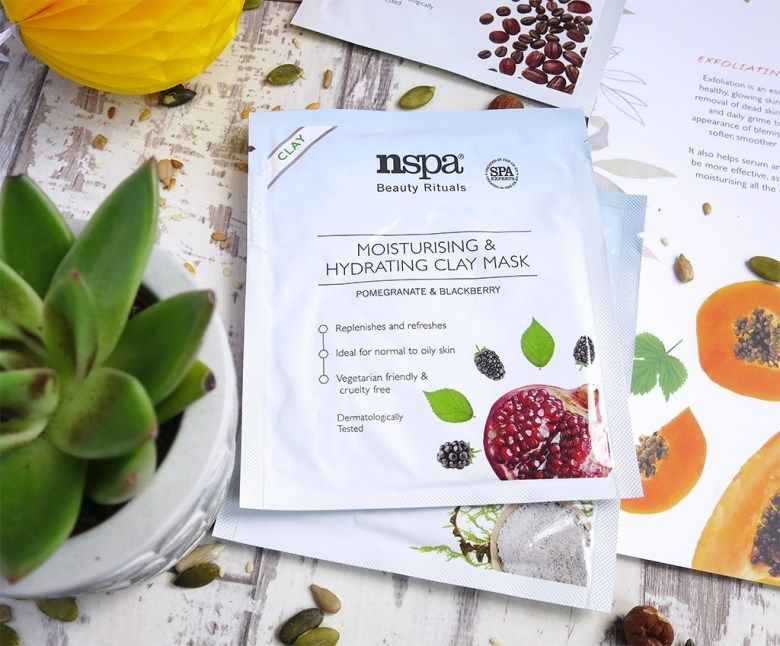 nspa Pomegranate & Blackberry Moisturising and Hydrating Clay Face Mask