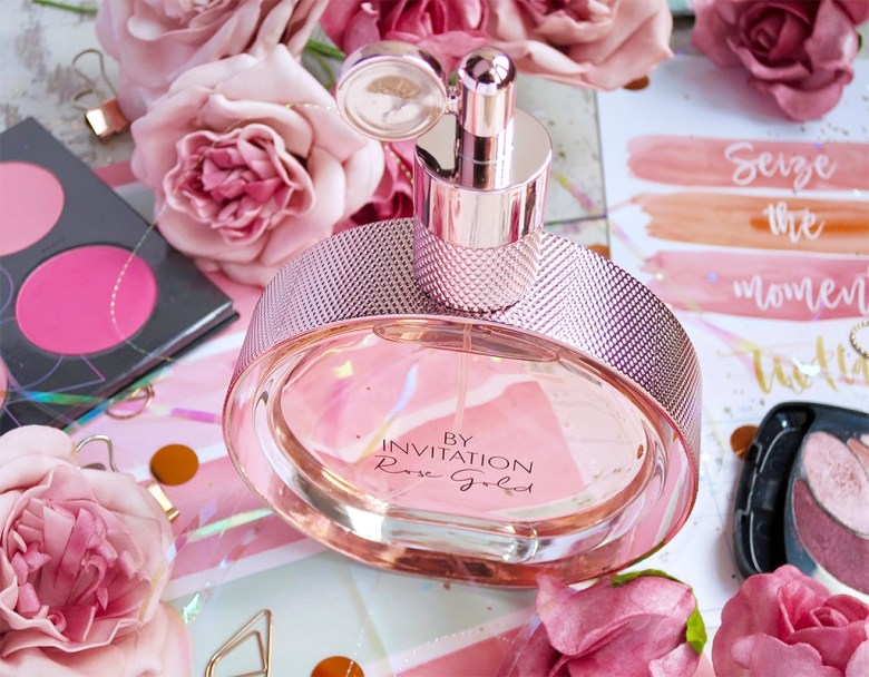 By Invitation Rose Gold Perfume