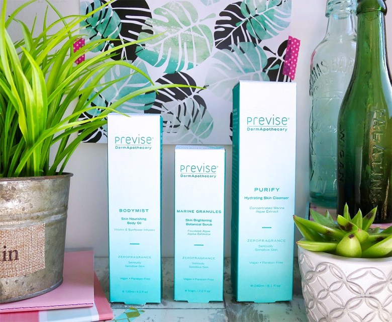 Vegan Skincare from Previse
