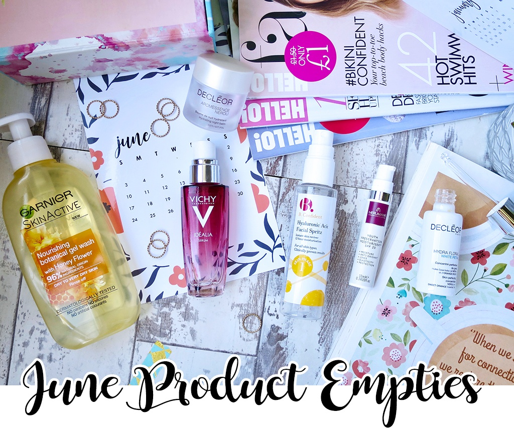 June 2018 Product Empties