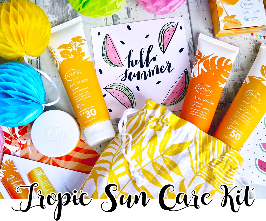 Tropic Skincare Sun Care Discovery Kit
