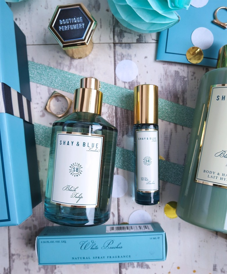 Shay and Blue 4 Piece Fragrance Collection for QVC TSV