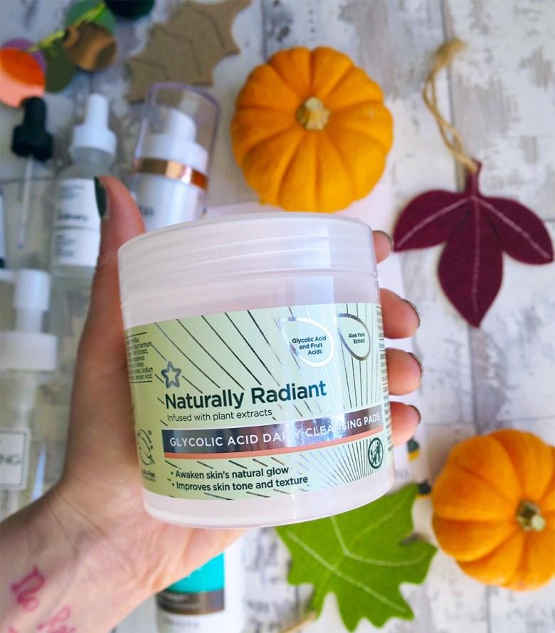 superdrug naturally radiant pads