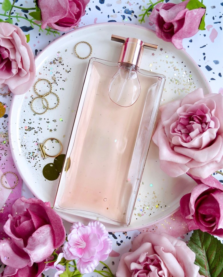 Pretty new rose fragrance Idole from Lancome
