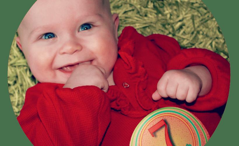 milestones of missy moo 7 months old