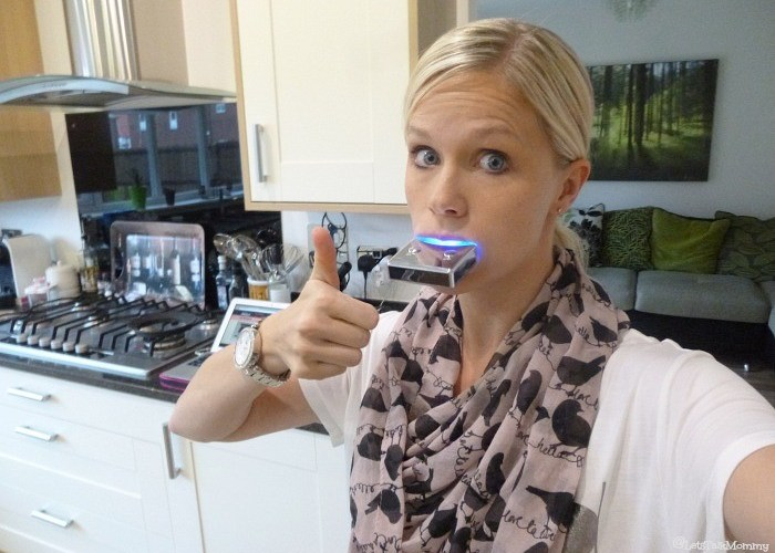 Smile Brilliant LED Teeth Whitening Review & Giveaway