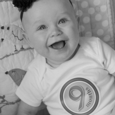 Missy Moo's Milestones: 9 months old