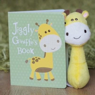 Jiggly Giraffe Book & Rattle Review