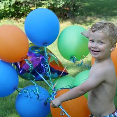 Buba's 3rd birthday pool party