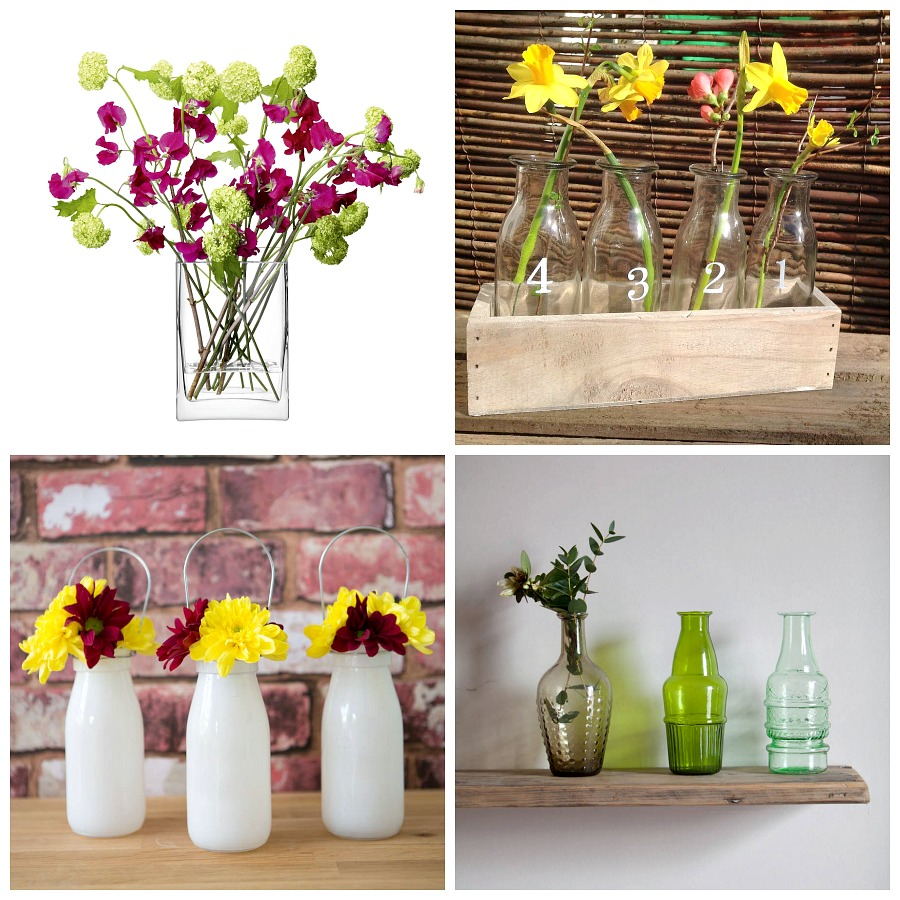 Home Styling decor Glass vases flower vases