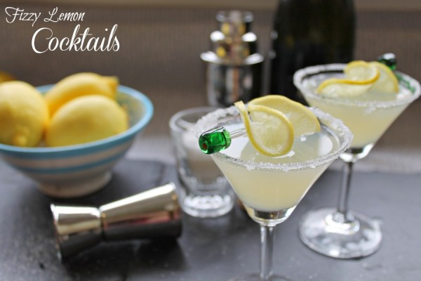 Fizzy Lemon Cocktail Recipe Cocktails