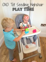 Oxo Tot Seedling Highchair Playtime
