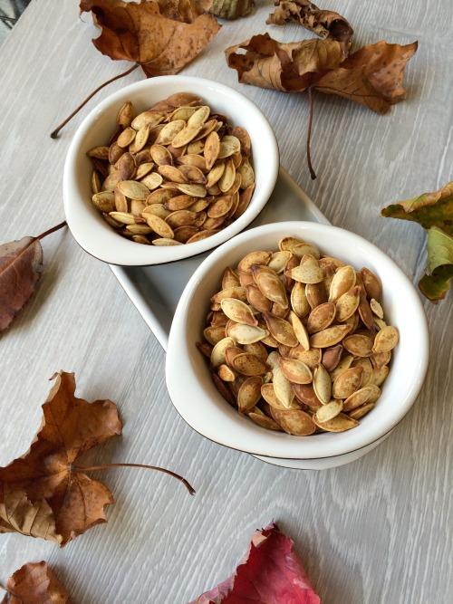 Halloween Roasted Pumpkin Seeds Recipe