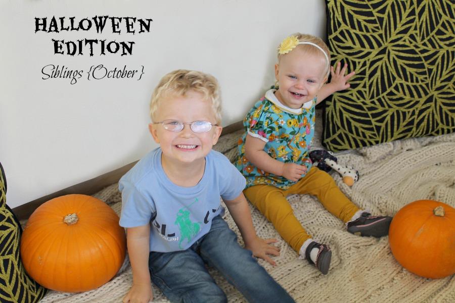 Halloween Siblings October Portraits