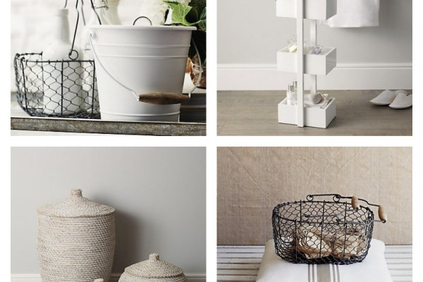 wire basket storage the white company ultimate guide to home decorating