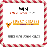 £20 voucher Funky Giraffe Baby bibs giveaway competition