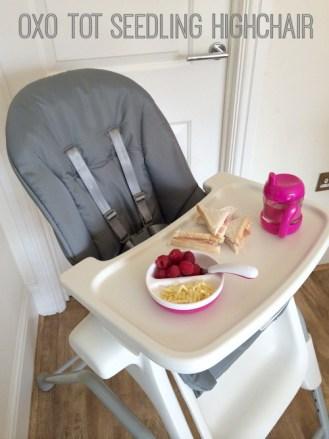 Oxo Tot Seedling Highchair Baby Feeding