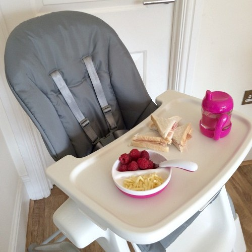 Our Oxo Tot Seedling Highchair