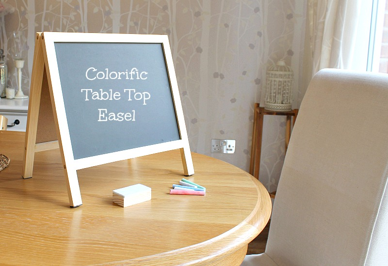 whiteboard chalkboard table easel chalk