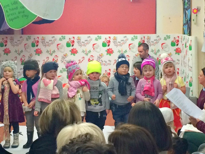 First Christmas Play at Nursery