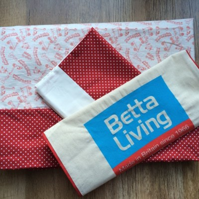 Sewing my first duvet cover with Betta Living