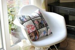 Large Personalised Canvas Cushion Giveaway Photo Cushion