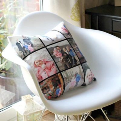 Large Personalised Canvas Cushion Giveaway