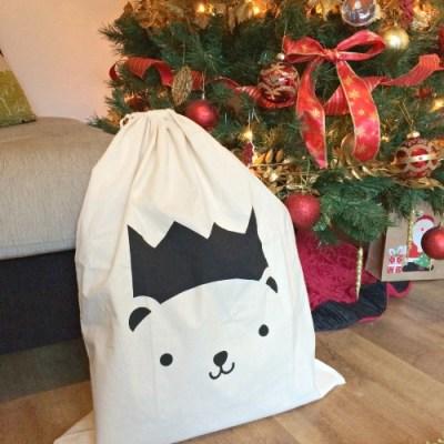 Polar Bear Santa Sack Giveaway