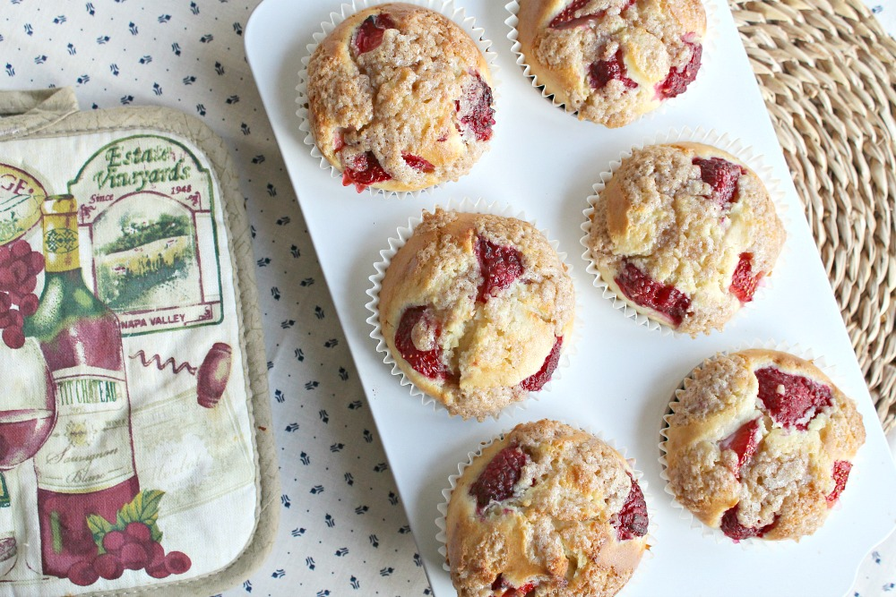 Berry Streusel Muffin Recipe