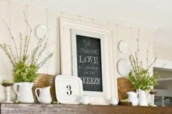 mantelpiece inspiration home decor