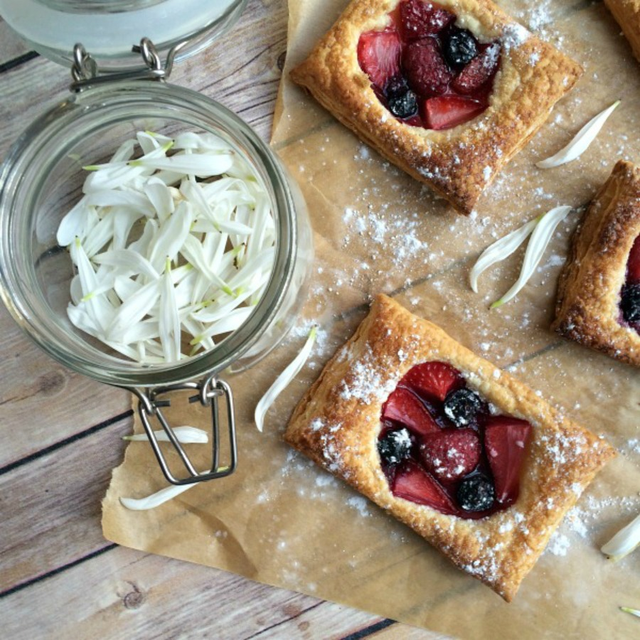 Fruit Puff Pastry Tart Recipe