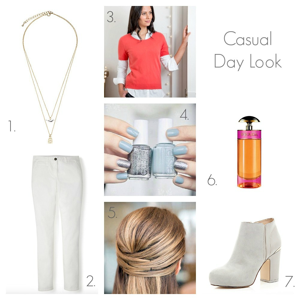 Fashion My Style Trends Dressy Day Look Casual Day Look Outfits