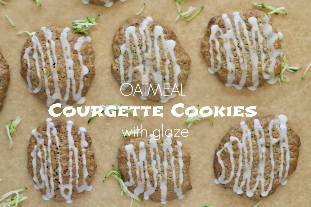 Oatmeal Courgette Cookies Recipe