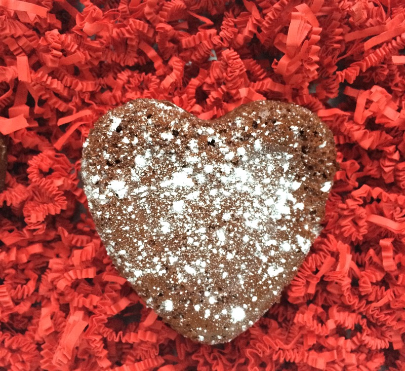 Valentine's Day Chocolate Hearts Cake Recipe