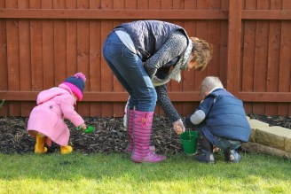 Gardening with Granny ordinary moments