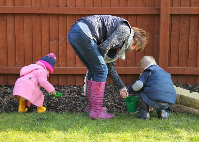 Gardening with Granny #ordinarymoments
