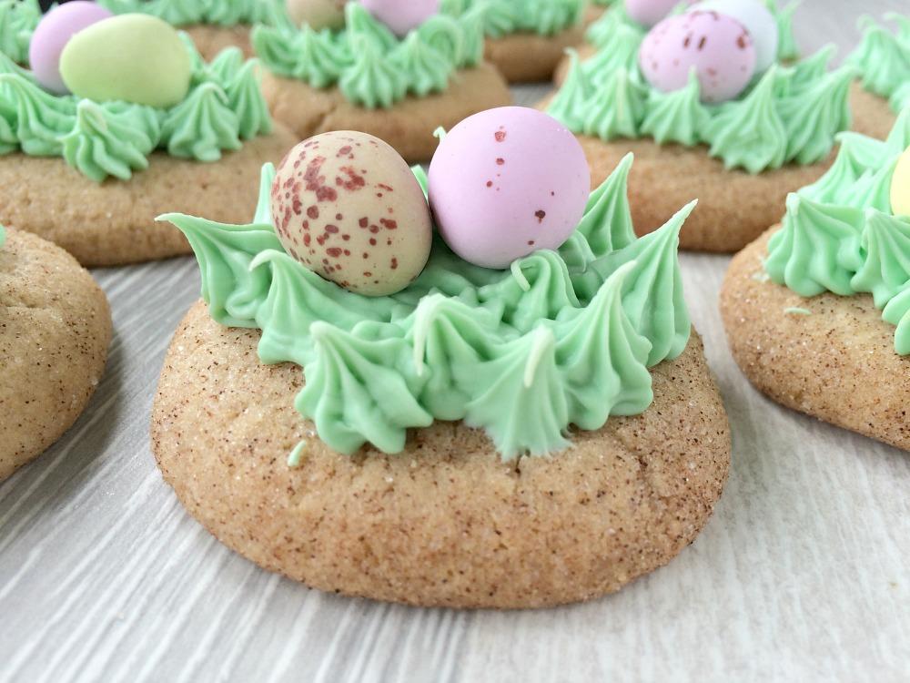 Easter Snickerdoodle Cookies
