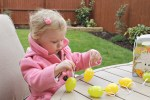 Easter egg hunt living arrows letters to him & her