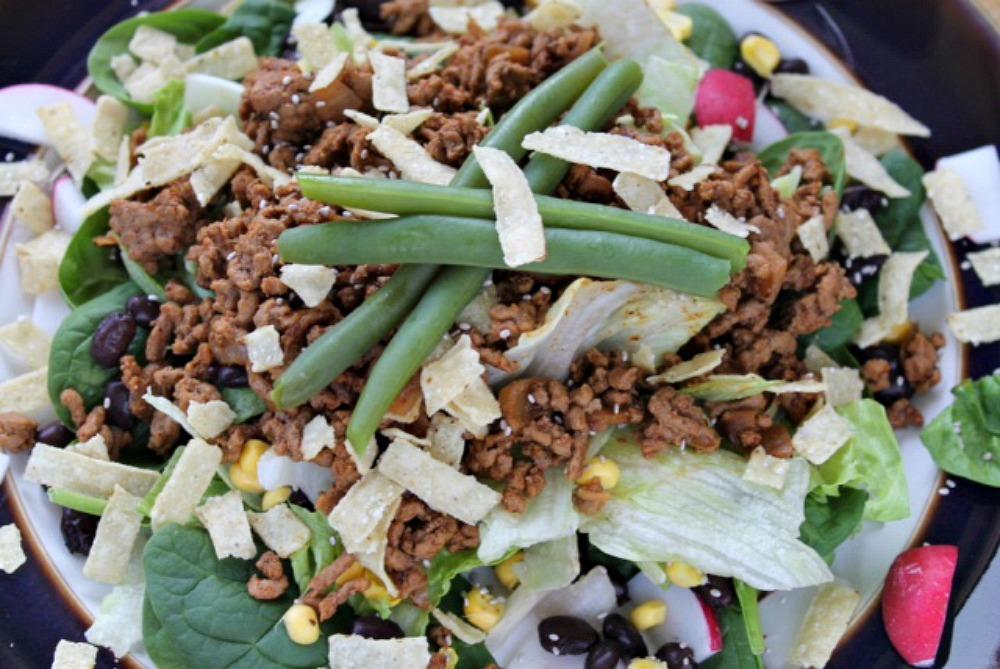 Beef Radish Salad Recipe oxo Good Grips Frying Pan Giveaway